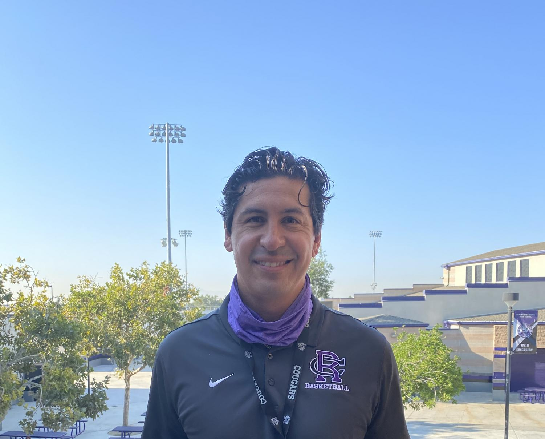 Mr. Eduardo Zaldivar is the new RCHS principal.