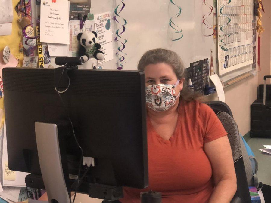 Ms. Herchenroeder, a teacher here on campus