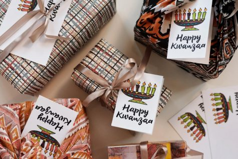Students Celebrate Kwanzaa 2020