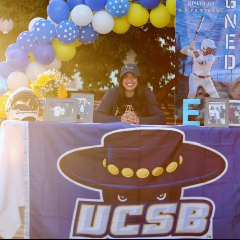 RCHS senior Elicia Acosta on signing day